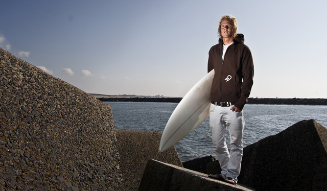 Photoshoot for Flap; a surfwear brand.