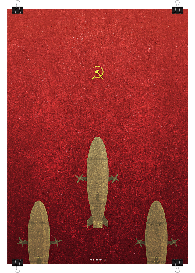 Red Alert 2 tribute poster.
